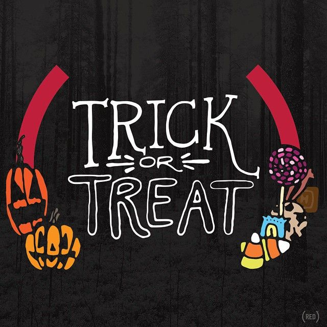 #HappyHalloween #TrickOrTreat