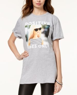 Love Graphic Cuffed T Shirt | | guess x myself | T