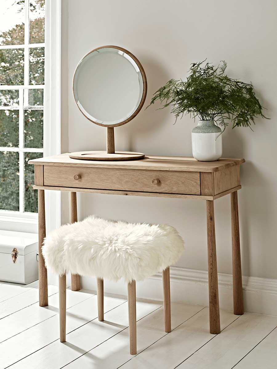 Bergen oak dressing table mirror bedroom pinterest console