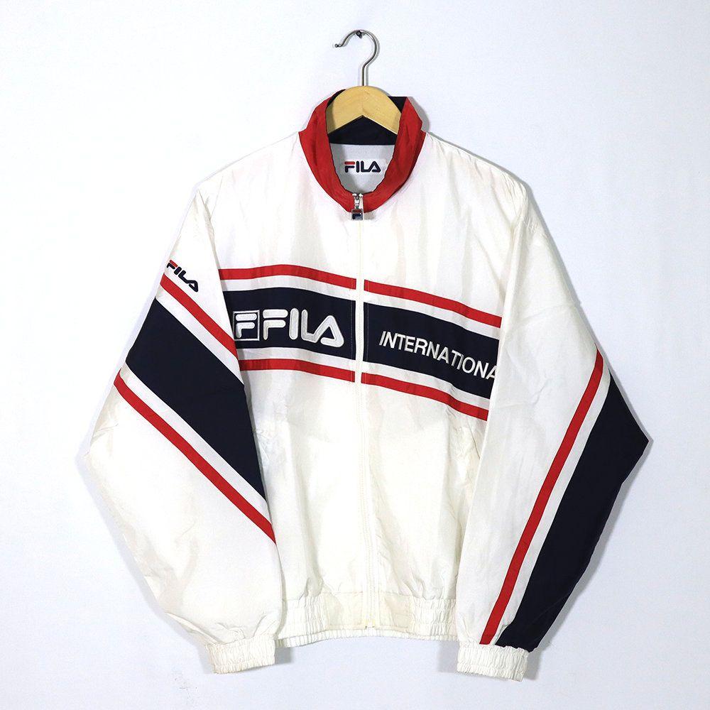 90s Fila Winter Jacket Vintage Big Logo Rare Vintage Fila
