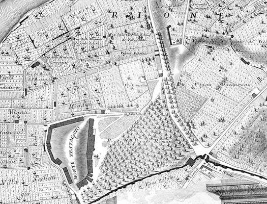 Giambattista Nolli Map Rome GIAMBATTISTA NOLLI Pinterest Rome