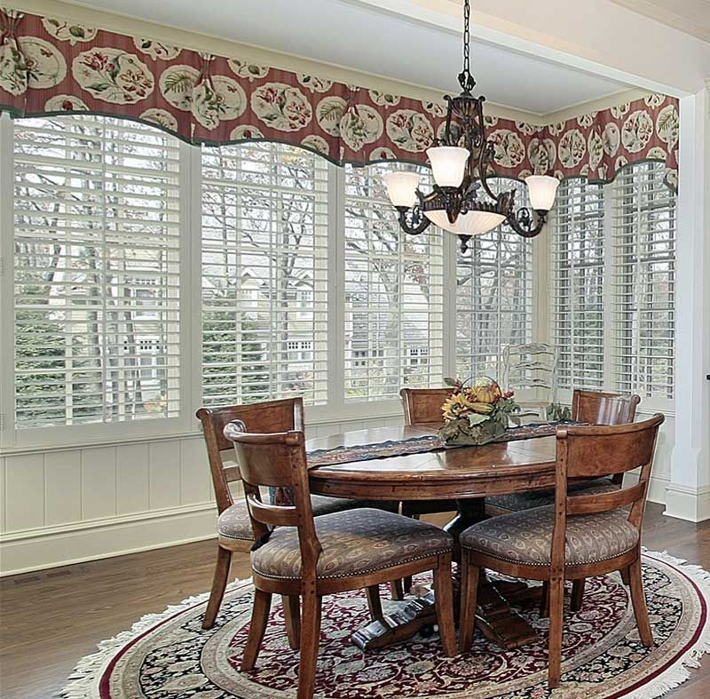 Ideas For Dining Room Valances And How To Recreate Them Breakfast Nook Curtains Bathroom Remodel Master Valance