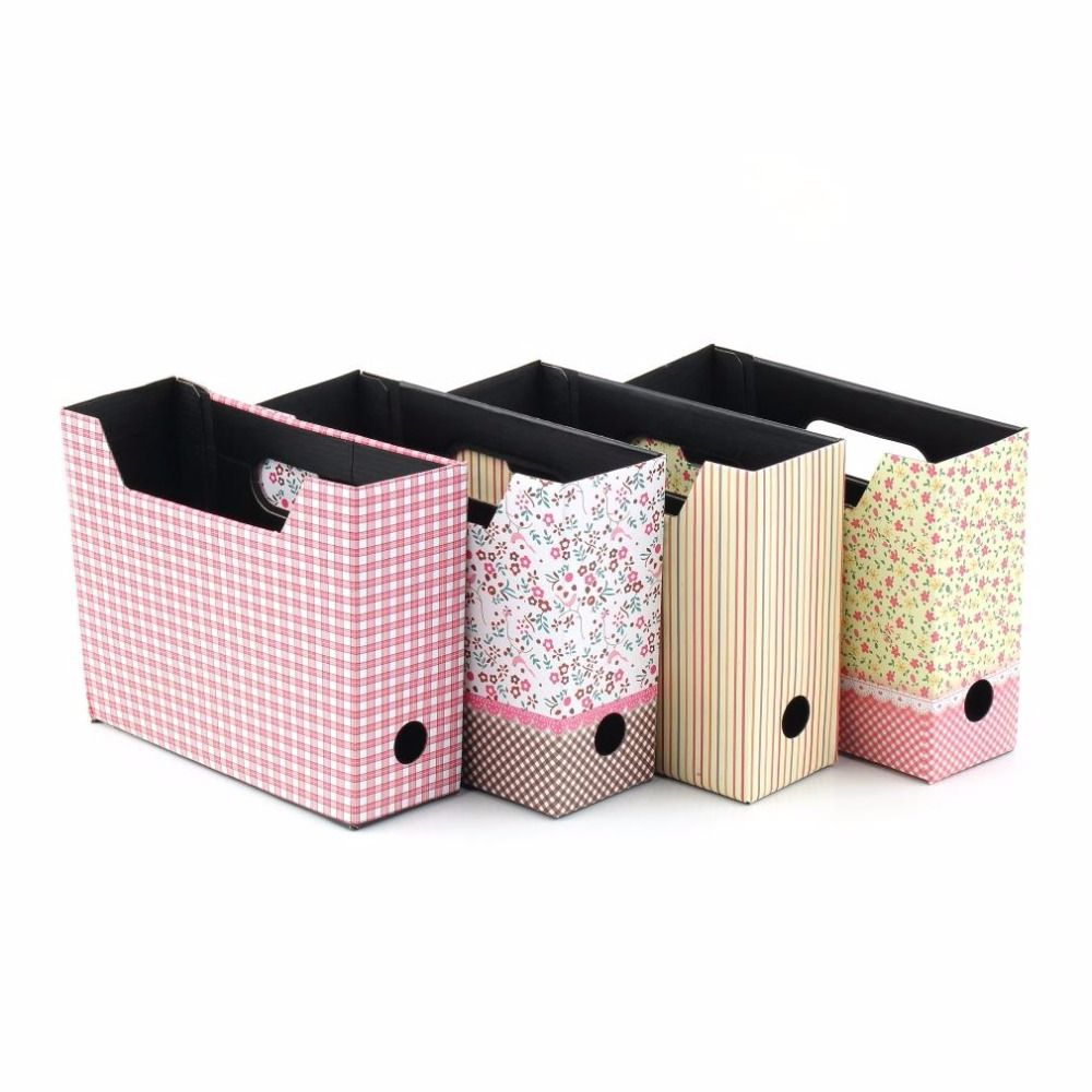 decorative office storage. Decorative Office Storage Boxes 1Pcs Cute Desk Decor Organizer Makeup Cosmetic Stationery Diy W