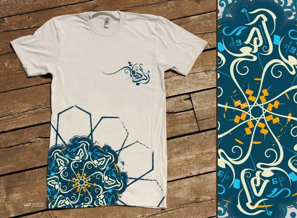 T-Shirts Typography Collection by Muhammad El.Mahdy, via Behance