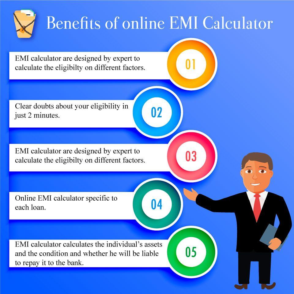 use our online  loan  emi  calculator to calculate emi