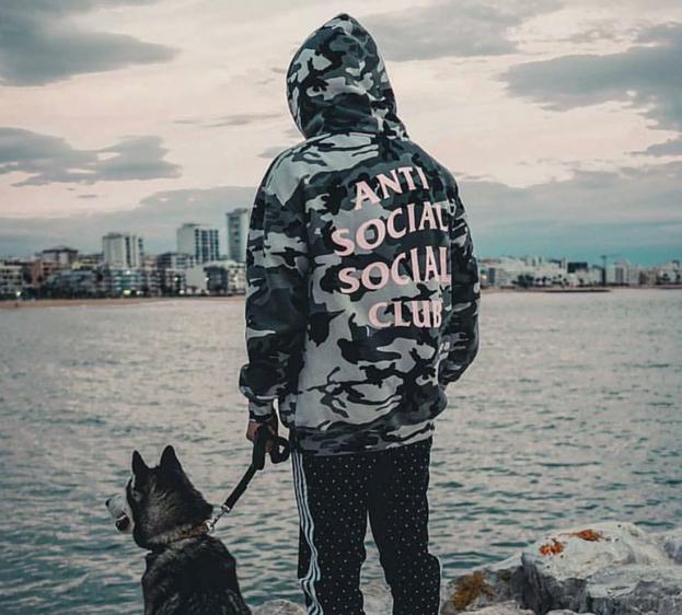 f24f05f816fa Anti Social Social Club ASSC Camo Hoodie No need nobody when you got this  hoodie on!  antisocialsocialclub  ASSC  camouflage  hoodie  sweater   sweatshirt ...