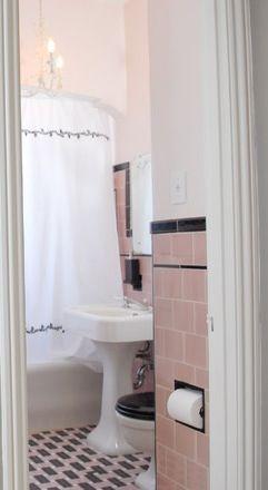 Pink Vintage Bathroom