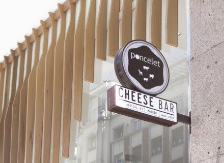 Poncelet Cheese Bar Branding