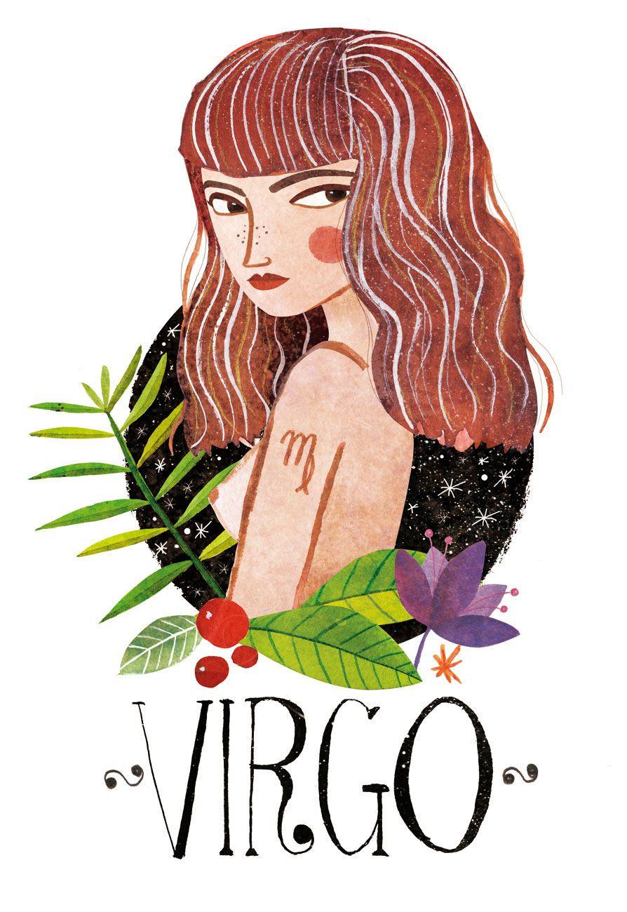 Zodiac signs: Virgo on Behance