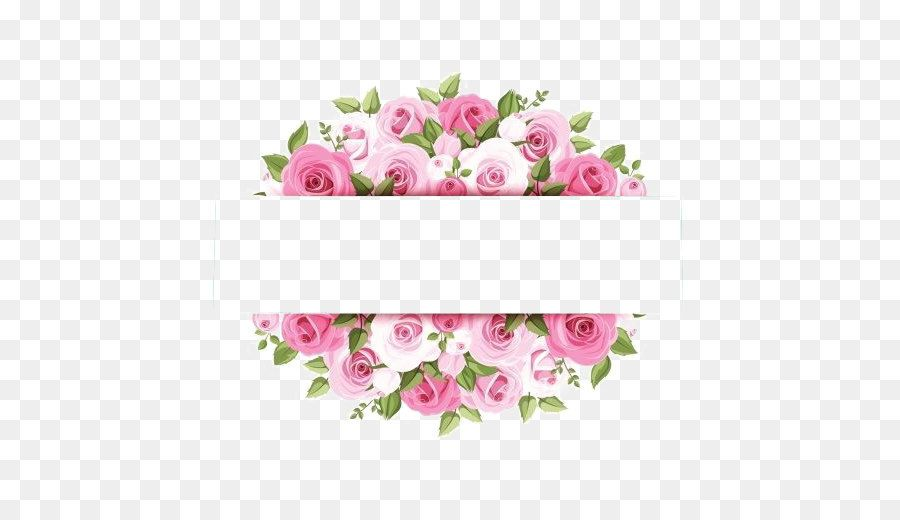 Rose Pink Flower Stock Photography Watercolor Flower Border Pink Watercolor Flower Flower Border Pink Watercolor