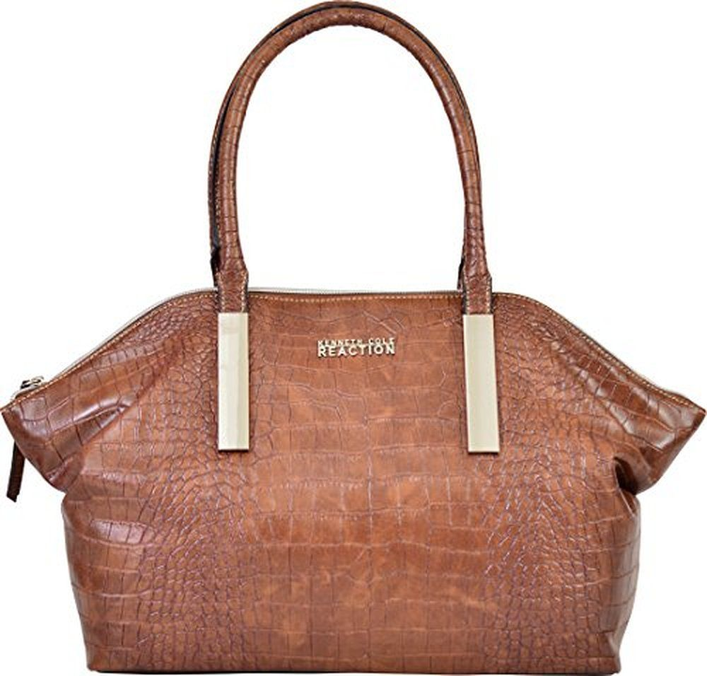 Kenneth Cole Reaction Kn1646 Inga Croco Satchel Handbag None
