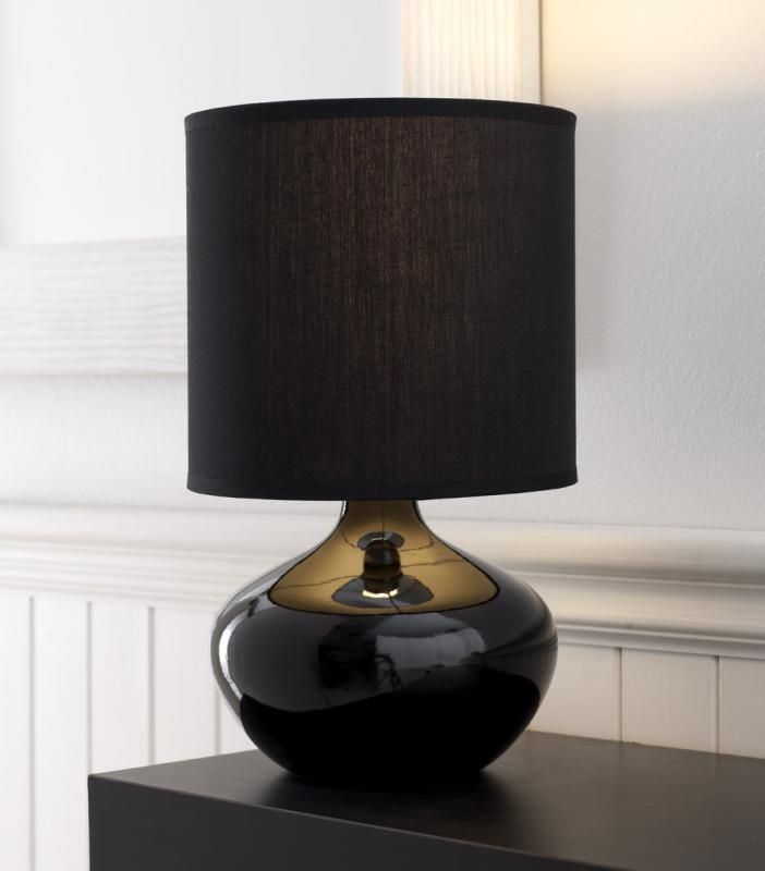 20 Awesome Bedroom Lamps To Brighten Your Space Bedroom Lamps Black Lamps Black Table Lamps