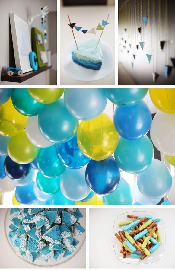 43 Dashing DIY Boy First Birthday Themes Birthdays Birthday party
