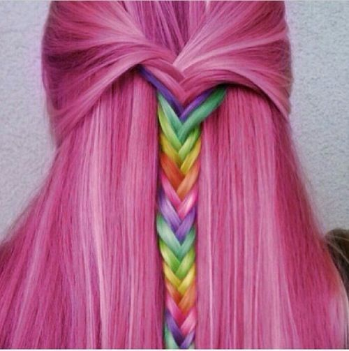 Colorful hair... This is Amazing