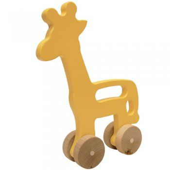 Giraffe Push Toy Branch Sustainable Design For Living Wooden Push Toys Push Toys Heirloom Toys