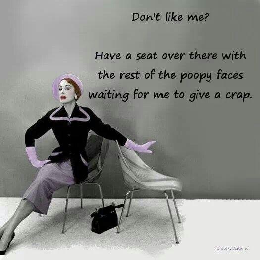 Dont Like Me ?