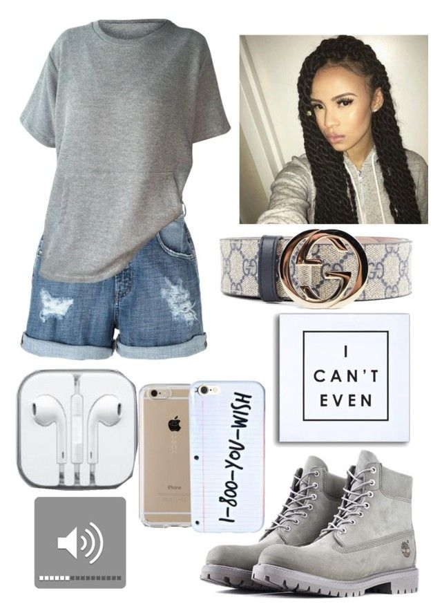 """I Can't Even Casual 21"" by copperperro ❤ liked on Polyvore featuring Diesel, Gucci, Speck and Timberland"