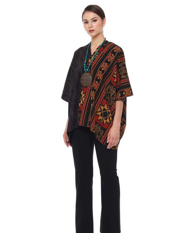 30+ Model Baju Batik Atasan Wanita Kantor Terbaru 2019 ...
