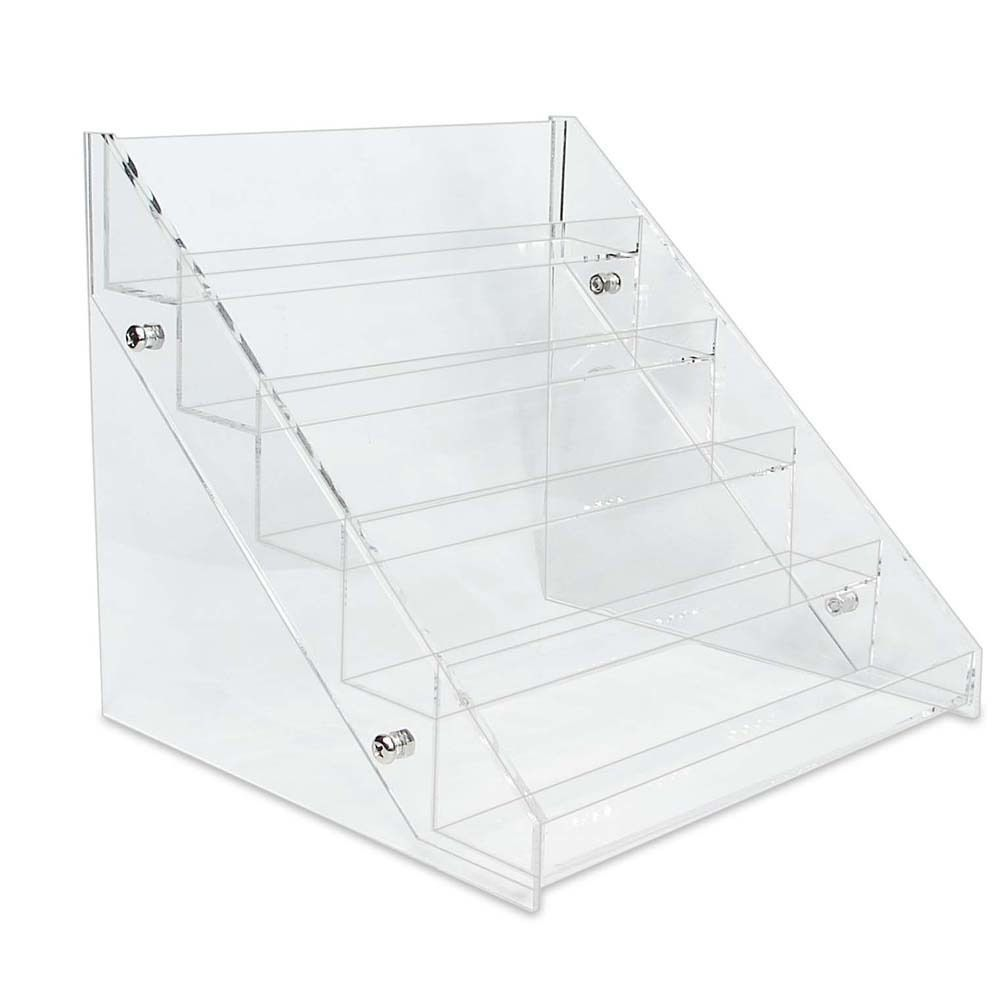 Nail Polish Makeup Table Rack Display Acrylic Organizer Stand 5 ...