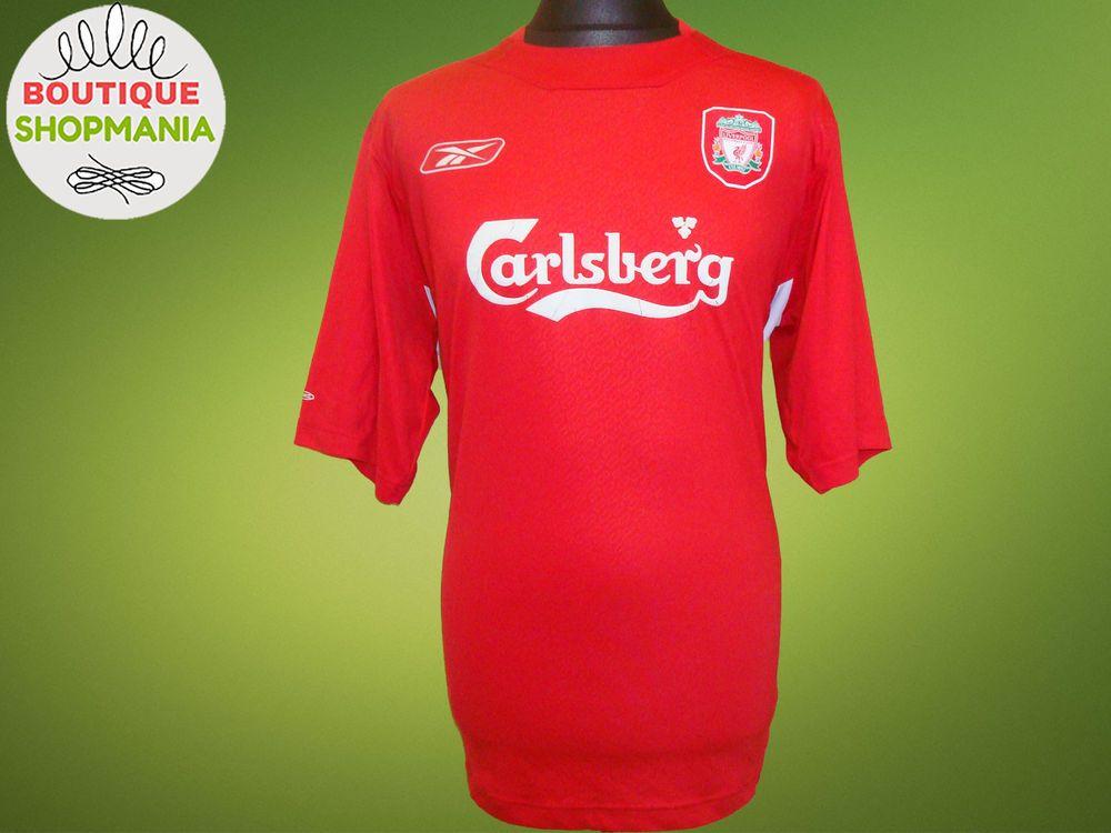 e61ff07e1 LIVERPOOL HOME 2004-2006 (2XL) Reebok Football Shirt Jersey Maglia Camisa  Soccer  REEBOK  LIVERPOOL