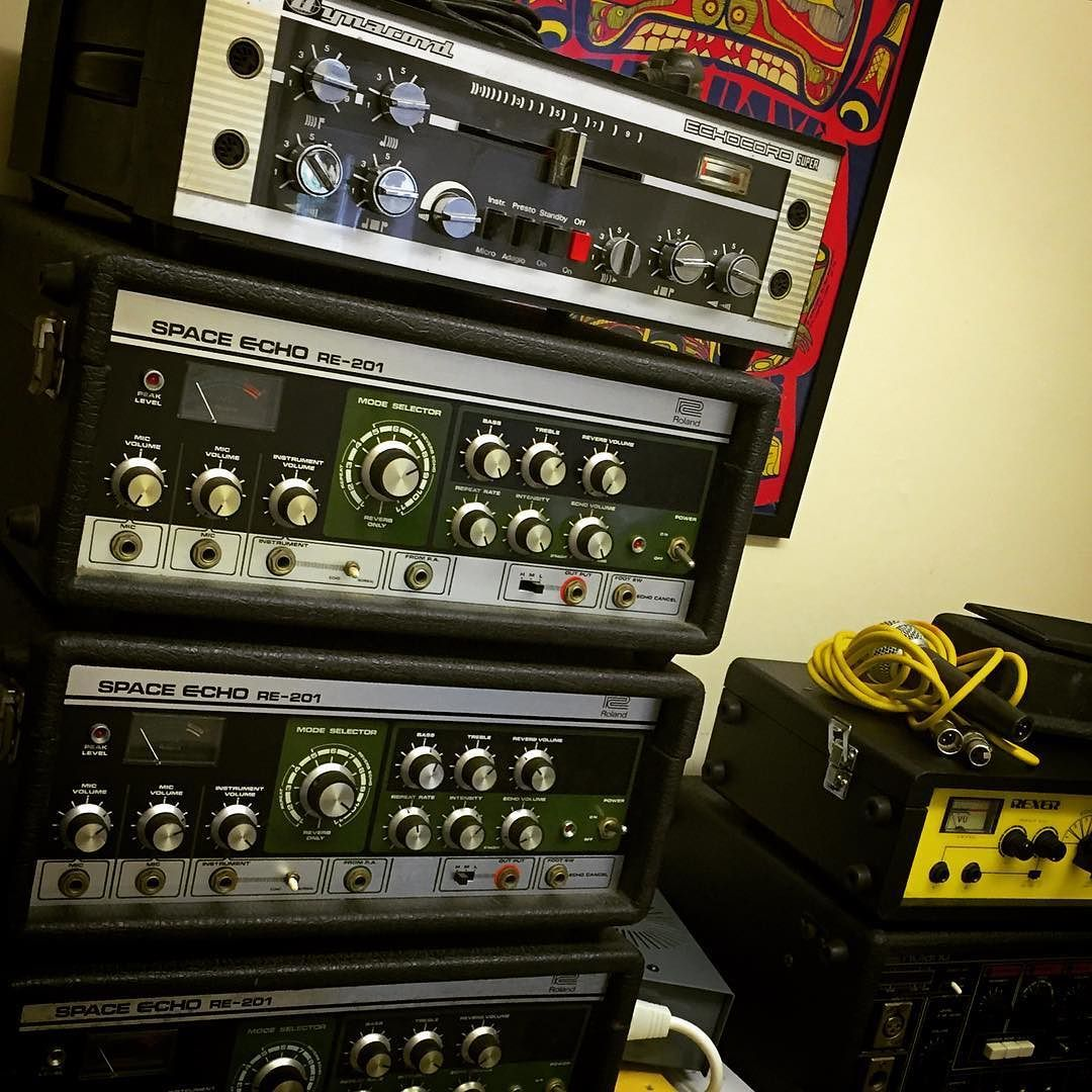 Monday's gratuitous echo stack shot - from the Soundgas soak test bench....