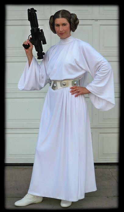 Princess Leia dress pattern - pretty easy.  sc 1 st  Pinterest & Princess Leia dress pattern - pretty easy. | Halloween Costumes ...