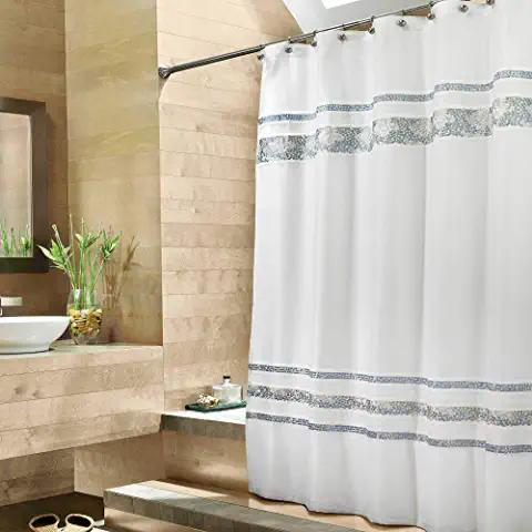 Amazon Com Croscill Bathroom Accessories In 2020 Blue Shower
