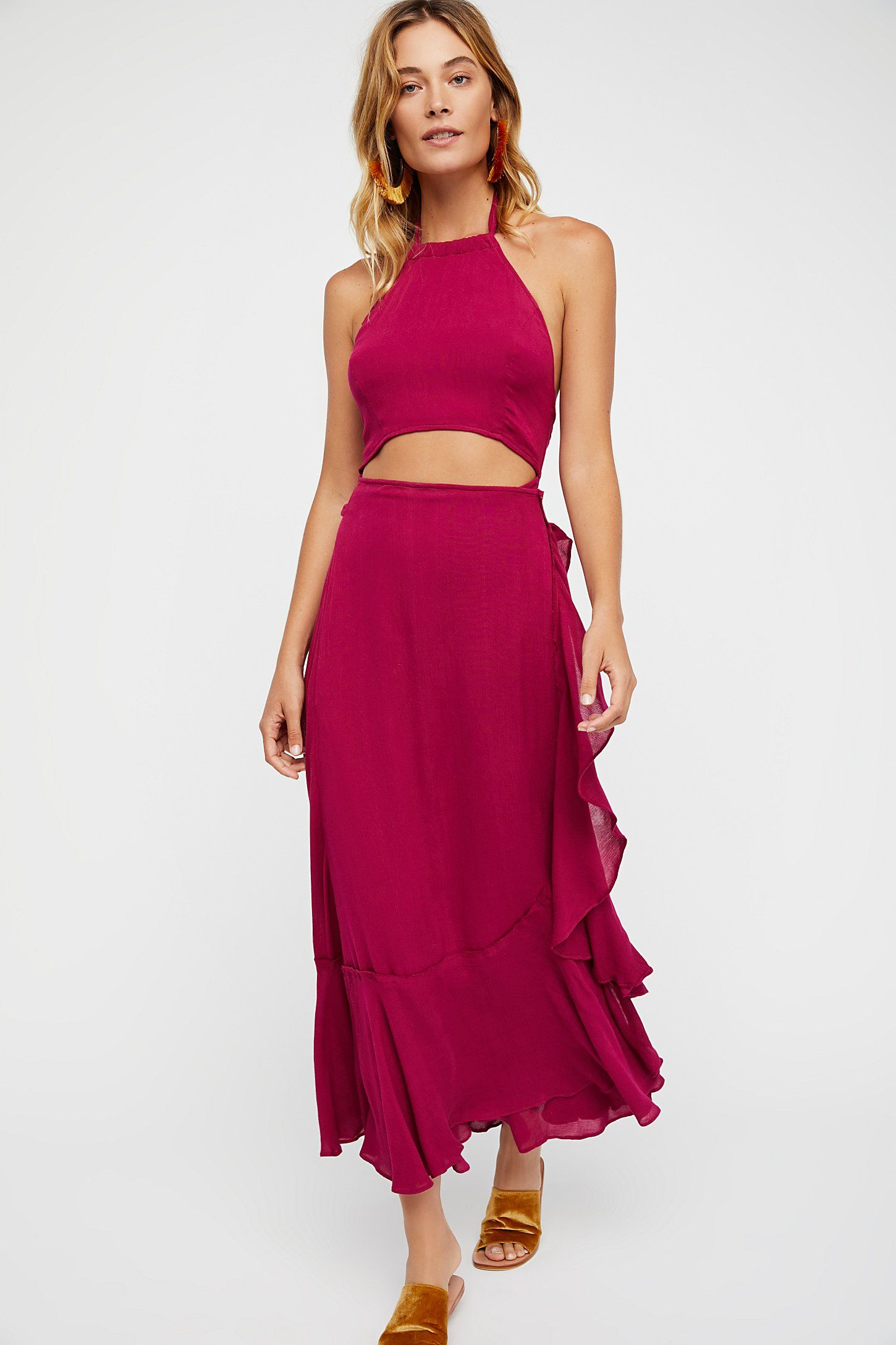 b96831eb1fe Shop our Bring On The Heat Maxi Dress at FreePeople.com. Share style pics  with FP Me