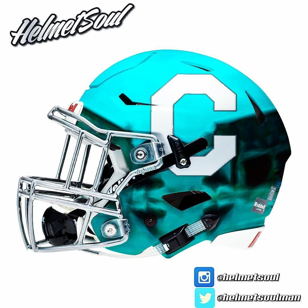 huge selection of 7674f b0658 Citadel chromed out. Silver C on a baby blue helmet. #chrome ...