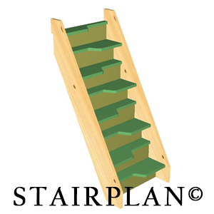 Best Budget Alternating Tread Staircase 8 Risers 400 x 300