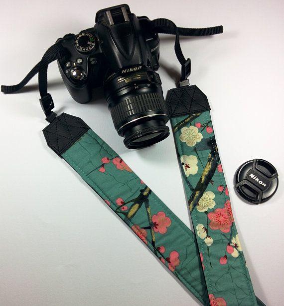 Shoulder belt Tracolla cinghia per fotocamera reflex Colore nero e blu