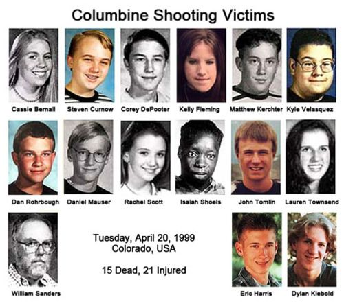 Columbine High School Shooting: 3 Years Ago The Brother Of Rachel Scott (who Is One Of The