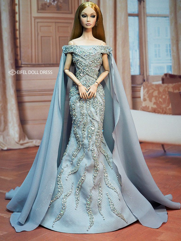 New Dress for sell EFDD | Dolls, Barbie doll and Beautiful dolls