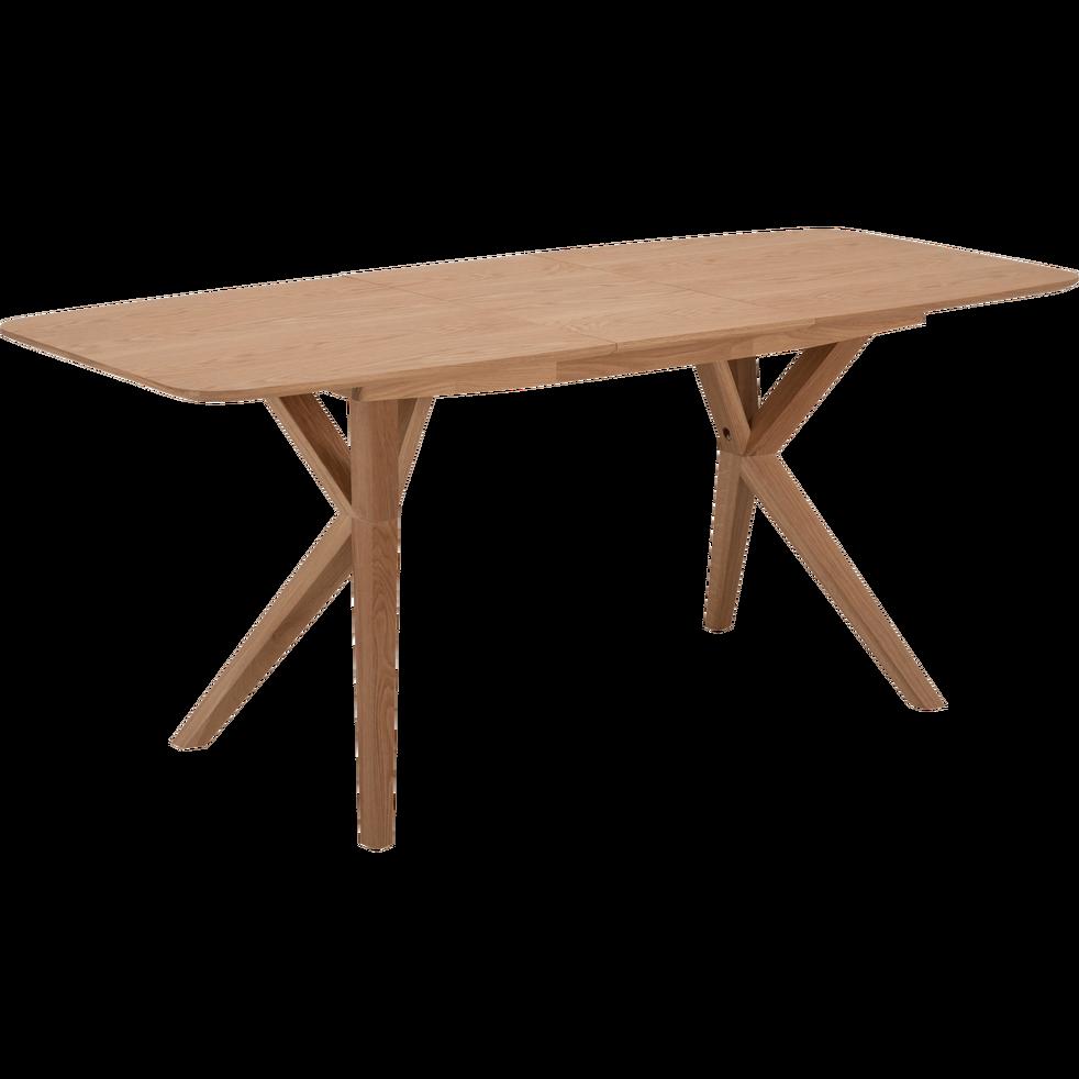 Table De Repas Extensible Plaquée Chêne 6 à 8 Places
