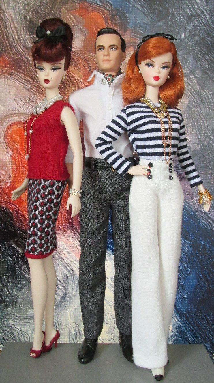 "/""WAITRESS/"" Career Series Silkstone Barbie Doll."