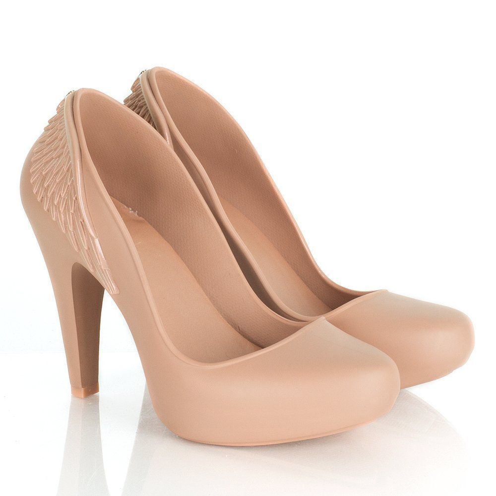 26b753c0176 Melissa Incense Wing 2 Pumps - Nude/Pale Pink #Melissa ...