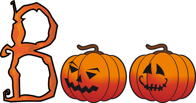 great clip art for halloween halloween boo word art halloween and rh pinterest com free clipart images for halloween Scary Halloween Clip Art Free