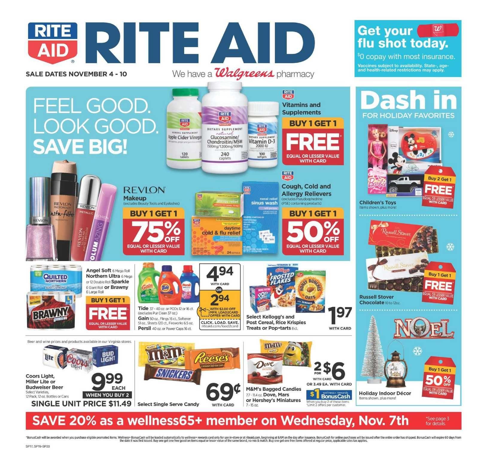 Rite Aid Weekly Ad Flyer May 30 June 5 2021 Weeklyad123 Com Weekly Ad Circular Grocery Stores Rite Aid Weekly Ads Diet Rite