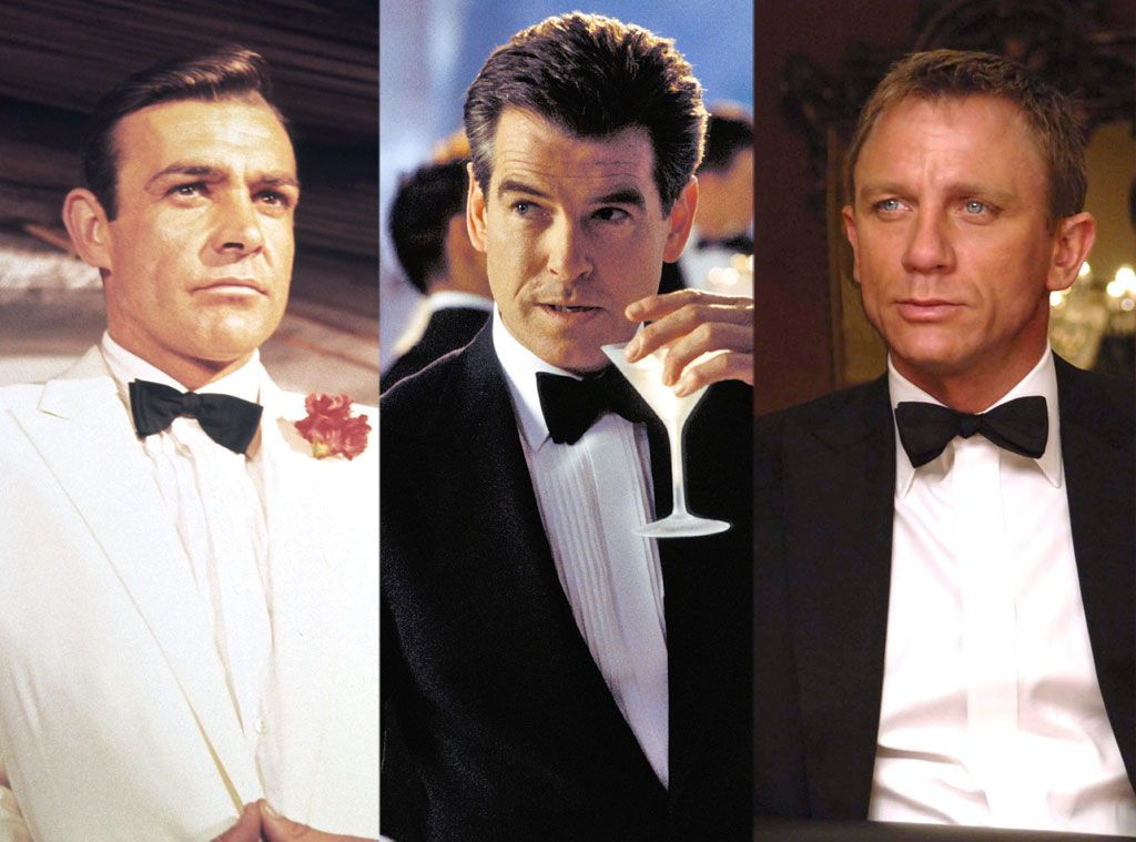 Pierce Brosnan Sean Connery Daniel Craig James Bond