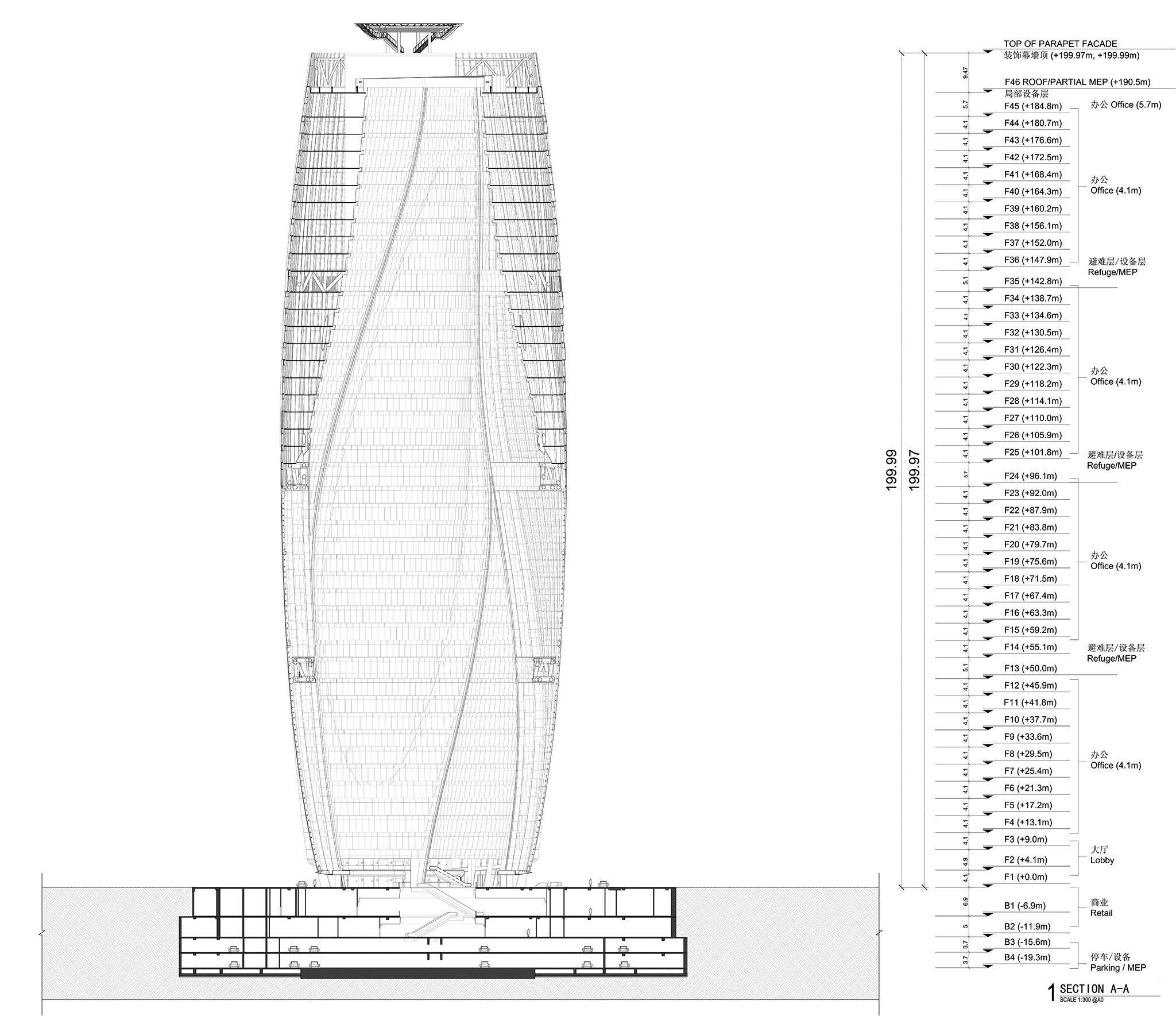 Zaha Hadid Architects Presents Leeza Soho Skysc R In