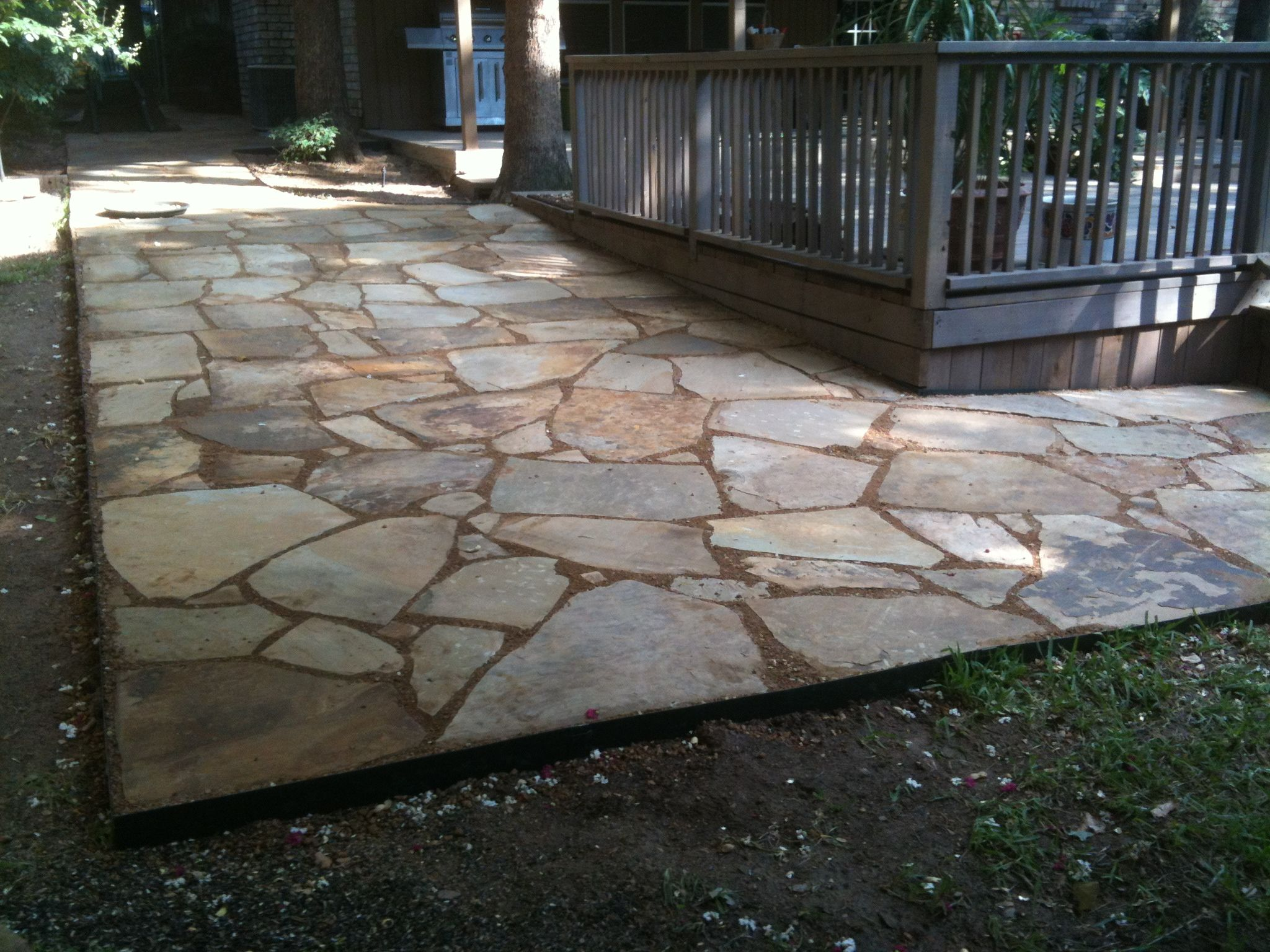Flagstone Whit Decompose Granite Our Latest Work