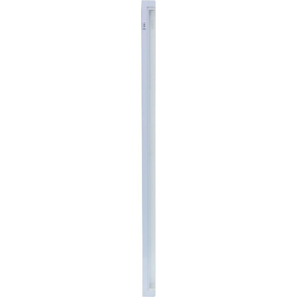 Linkable T5 Fluorescent Batten For Use Under Kitchen Cabinets: GE 36 In. Super Slim Linkable Fluorescent White Under