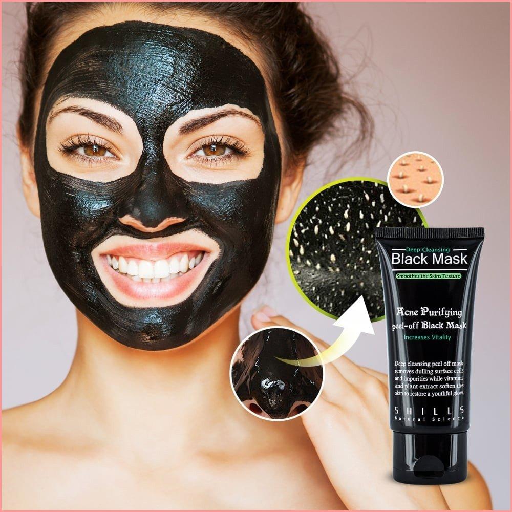black face mask peel