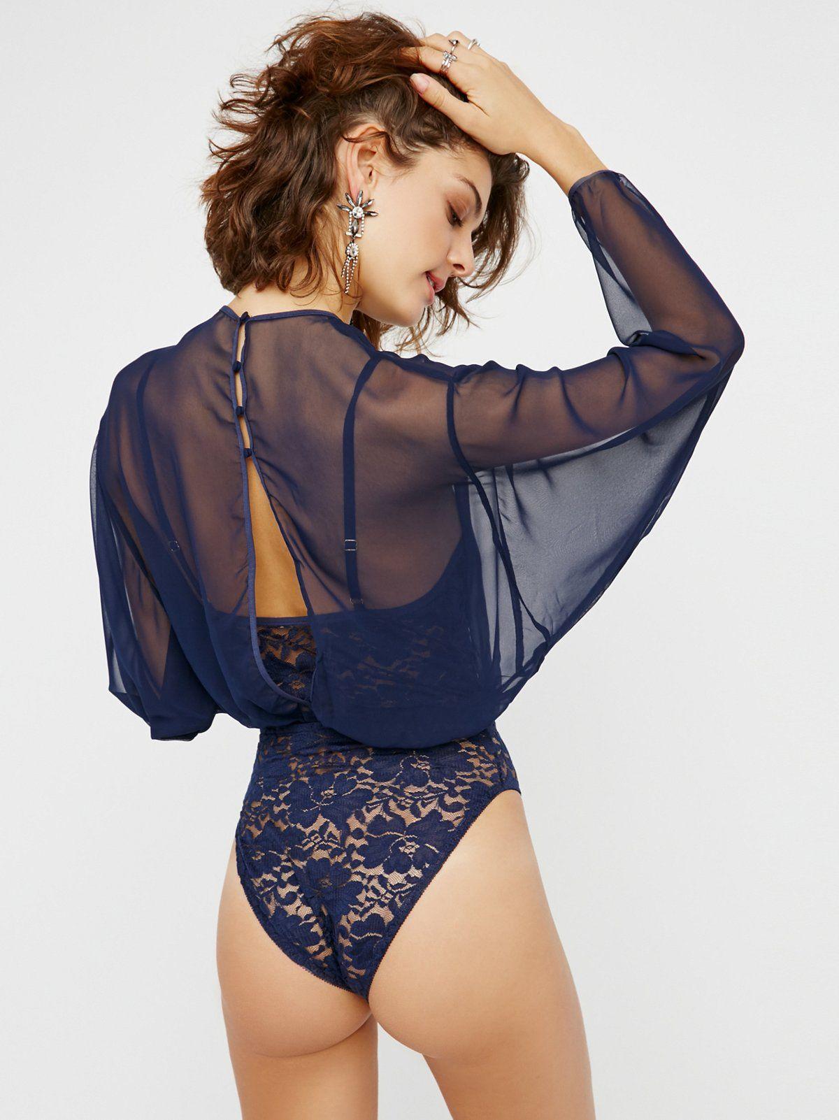 Lace bodysuit styles  Mama Jen Bodysuit  Floral lace bodysuit featuring adjustable straps