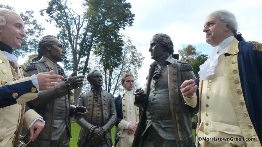 Who needs Broadway? Hamilton plays Morristown Green, with Washington and Lafayette, too   Morristown Green