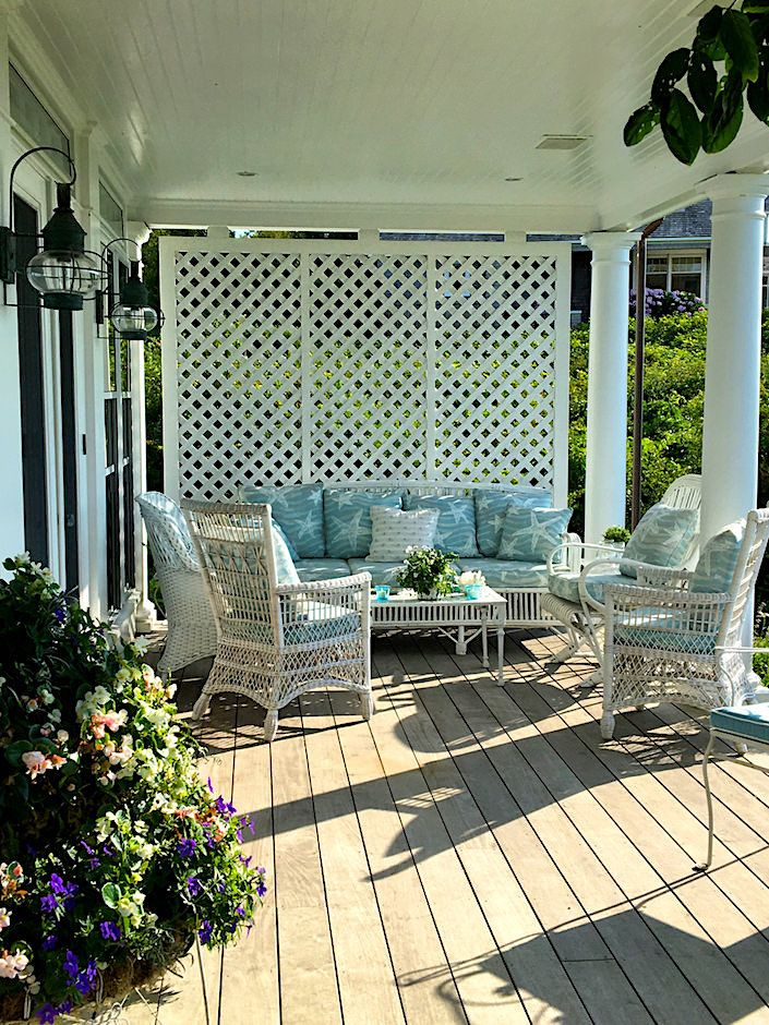 Nantucket porch via Quintessence