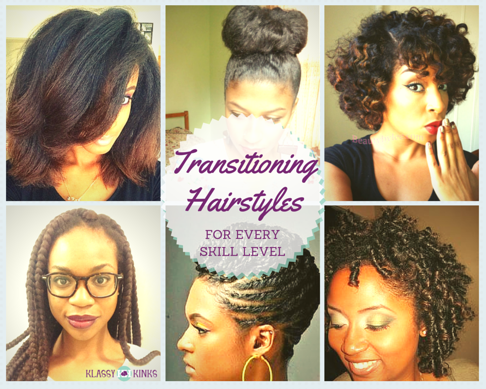 Transitioning Hairstyles for Every Skill Level | Transitional ...