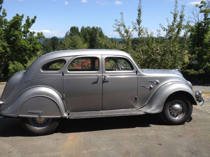 1936 DeSoto Airflow 4 door sedan