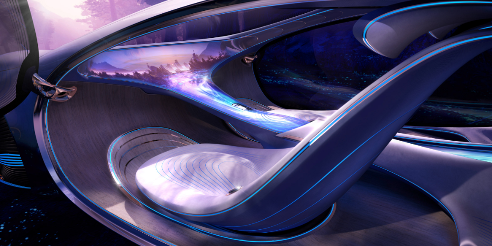 Mercedes Benz Future World Concept Car Futuristic Cars Mercedes Concept Mercedes Benz Cars
