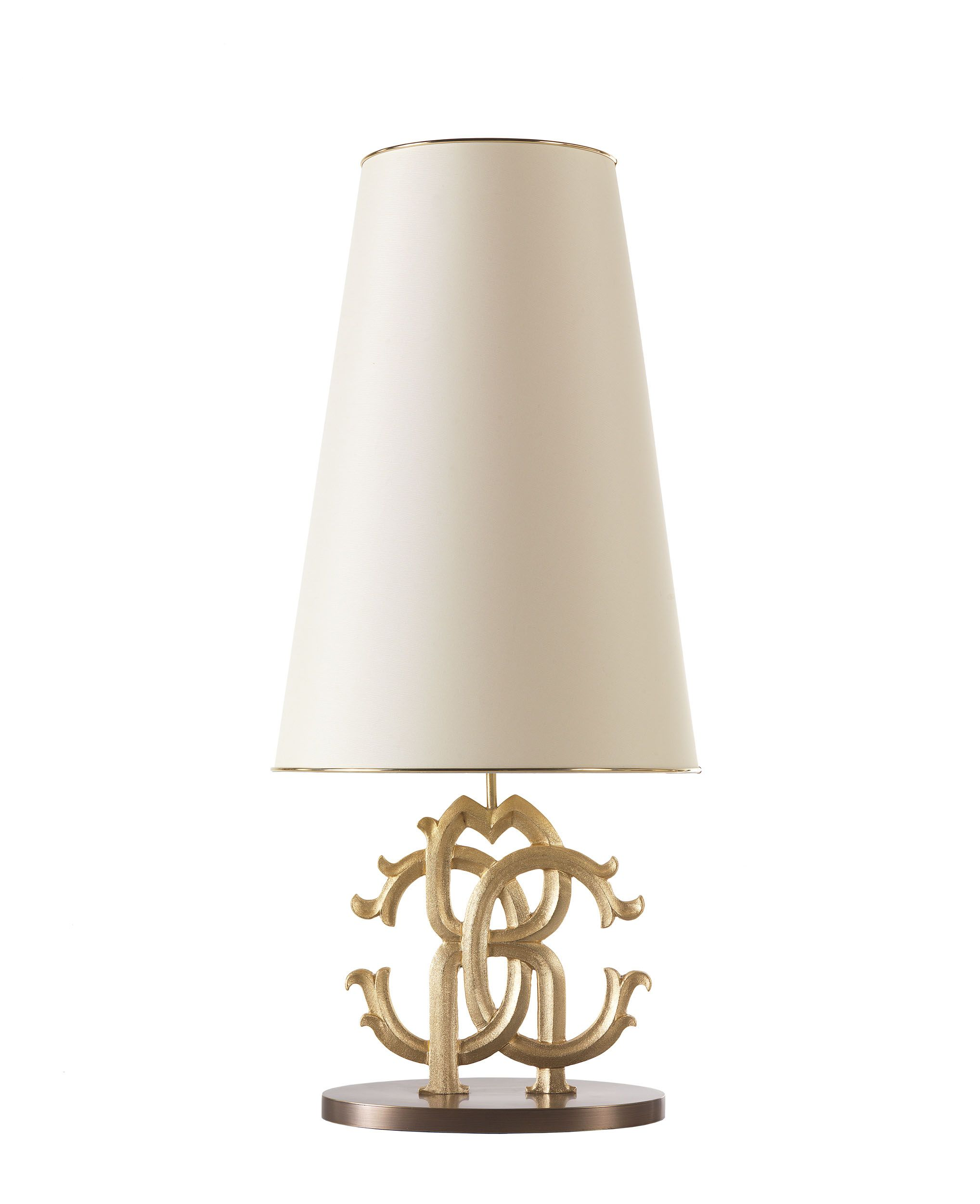 ROBERTO CAVALLI HOME Australia RC Logo Table Lamp – Desk Lamp Logo